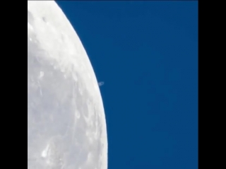 Луна и Сатурн