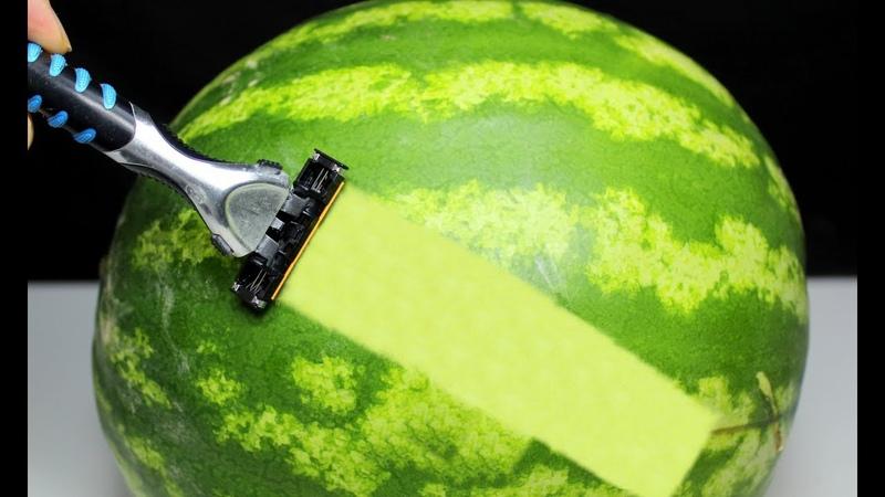 EVDE YAPABİLECEĞİNİZ 9 EN HAVALI İPUCU ( Simple Watermelon Hacks )🍉