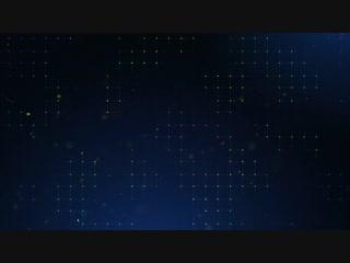Точки на синей сетке / Dot Blue Grid