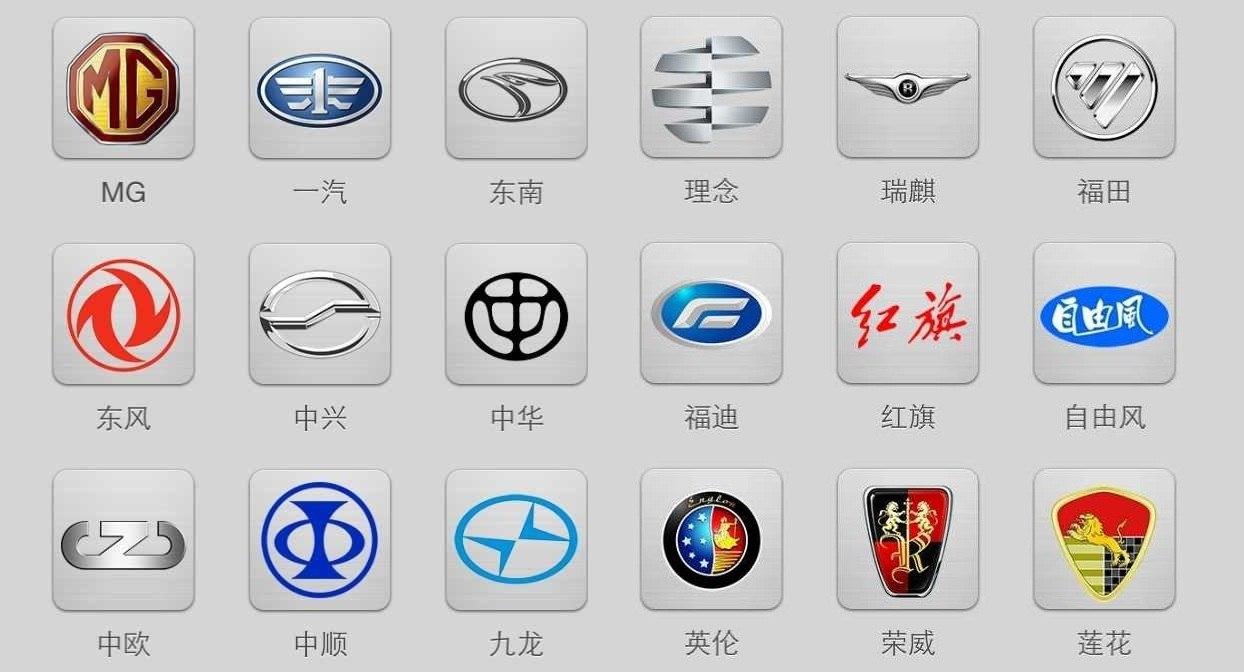 китайские автомобили эмблемы фото