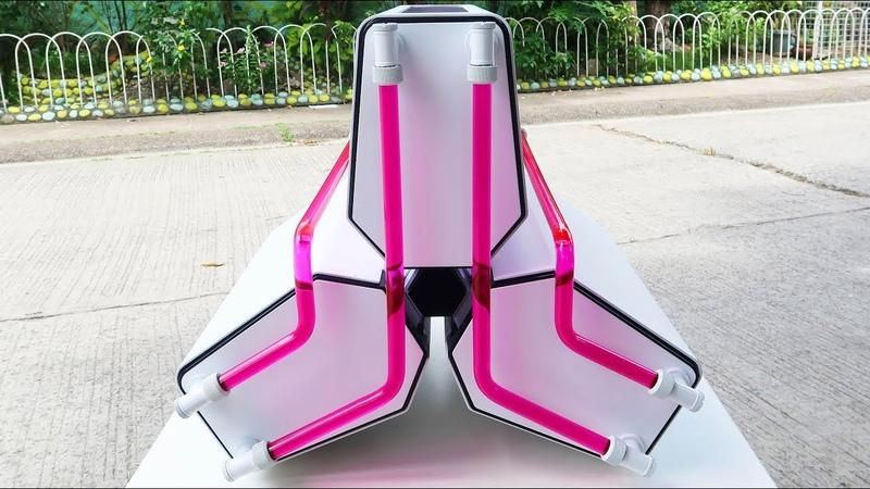 Custom Pc Build 42 Trinity Deepcool Tristellar Mini itx Pink Build.