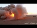U S army target ISIS positions in the last remaining ISIS pocket in DeirEzzor Hajin