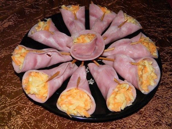 Закуски к праздничному столу