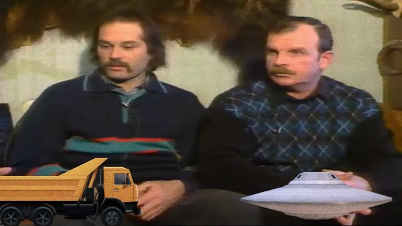 Дальнобойщики возвращаясь из Архангельска встретили НЛО