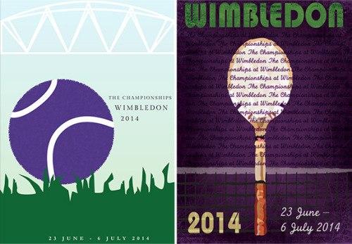 Постер Уимблдон 2014