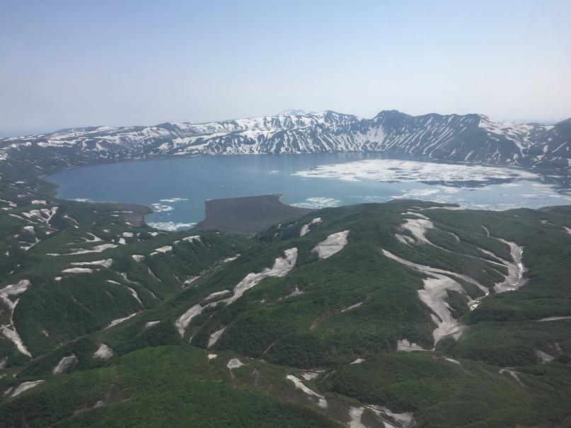 Вертолетная экскурсия. Крымское озеро