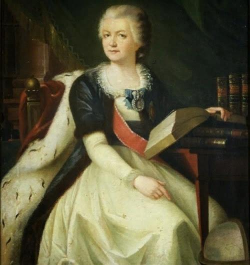 Графиня Екатерина Дашкова была очень умной. Она в 13 лет знала несколько языков, получила блестящее образование, самое лучшее, какое можно было получить в 18 веке. Она в 15 лет подружилась с
