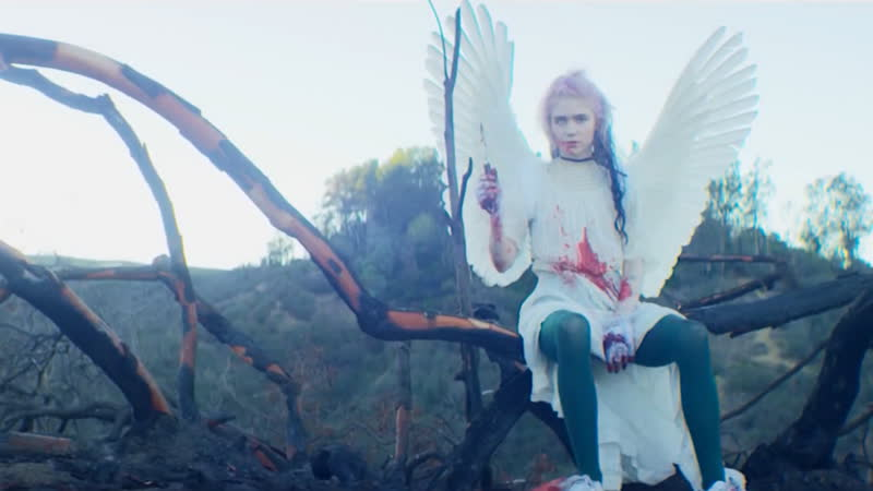GRIMES - Flesh without Blood/ Life in the Vivid Dream