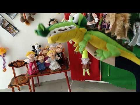 кукла маппет крокодил