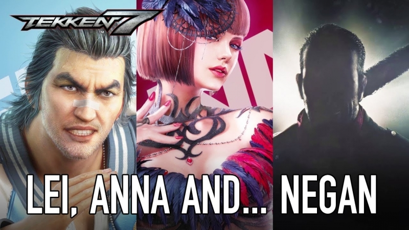 Анна, Лэй Улун и Ниган в новом трейлере игры Tekken 7 на EVO 2018!