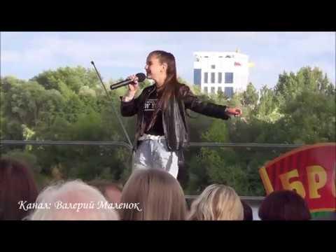 ЦВЕТ НАСТРОЕНИЯ СИНИЙ на День молодежи в Бресте Street Music Song