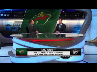NHL Tonight: Outlook for Wild Jul 17, 2018