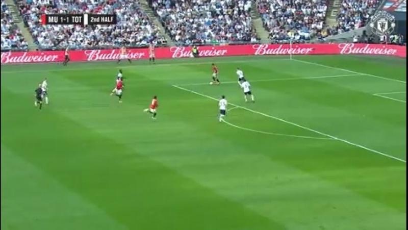 FA Cup semi-final goals: Manchester United 2 Tottenham Hotspur 1