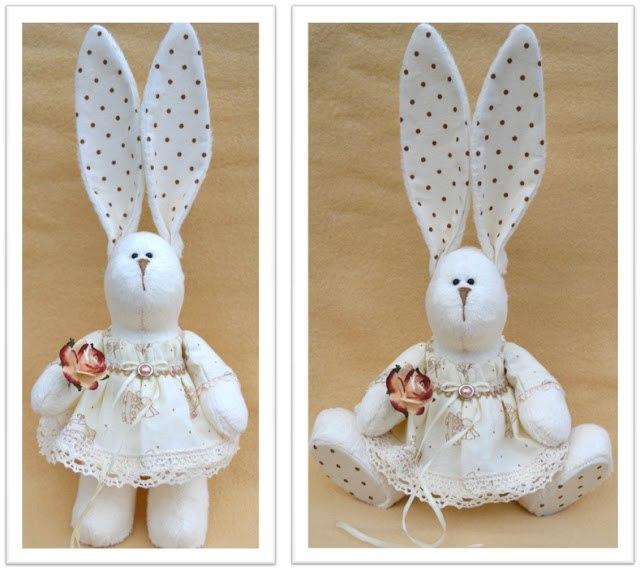 Выкройки зайца из ткани своими руками