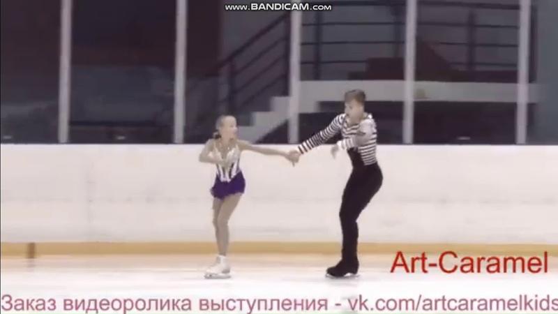 Анна Щеглова - Илья Калашников ПП 1 этап Кубка Санкт-Петербурга 2018