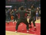 Boban dancing to Drakes Gods Plan last night via