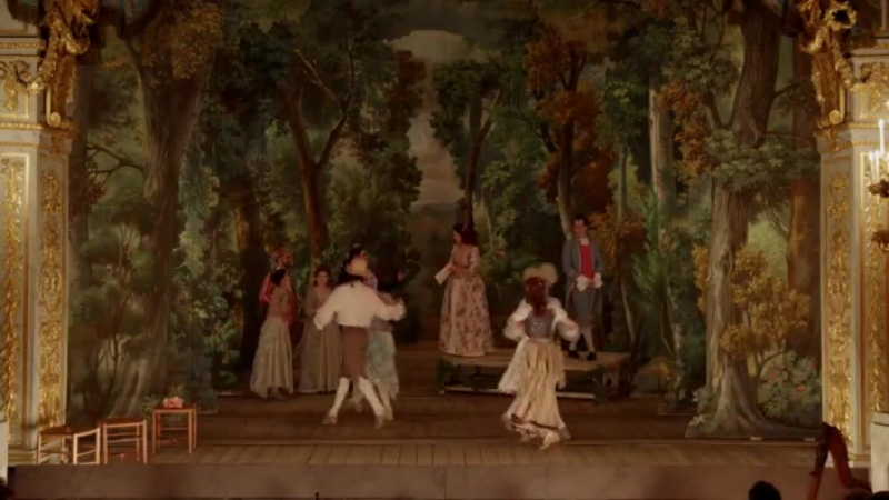 Jean Jacques Rousseau Le Devin du village 1752 Petit Théâtre de Marie Antoinette à Versailles