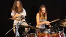 Honky Tonk Women (Rolling Stones) Sina feat Milena on drums