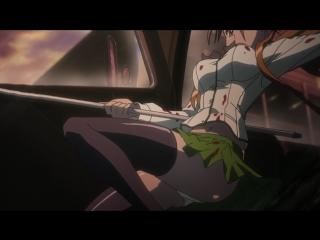Школа мертвецов(Gakuen Mokushiroku: High School of the Dead) - 03 [RUS озвучка] (аниме эротика, этти,ecchi, не хентай-hentai)
