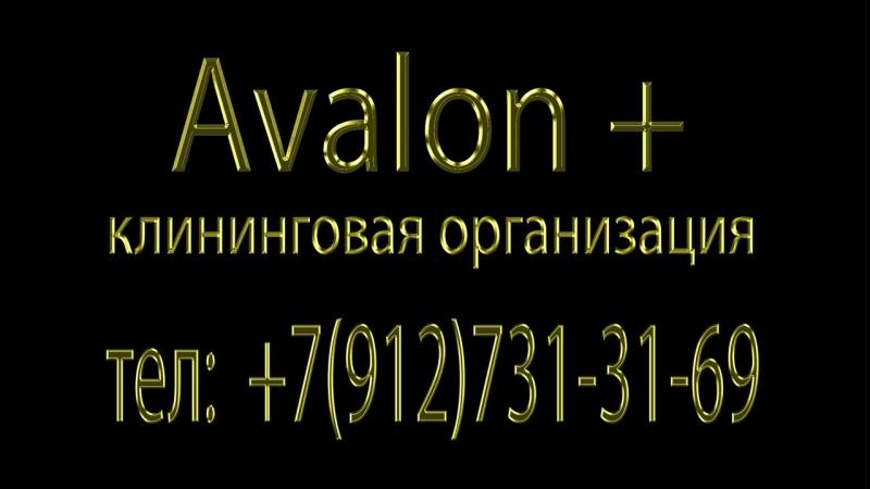 клининговая организация Avalon тел:7(912)731-31-69