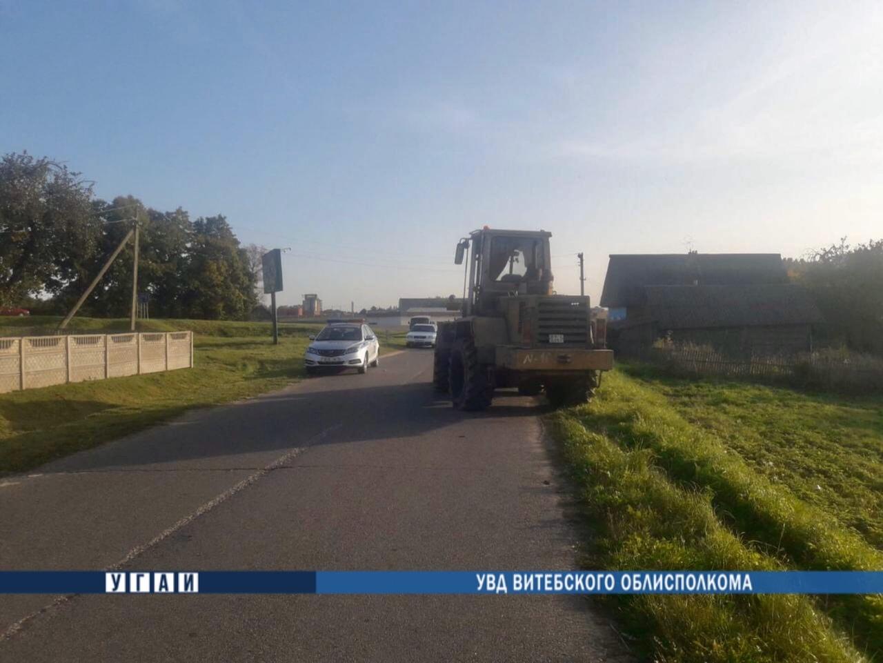 ДТП с летальным исходом произошло в Толочинском районе
