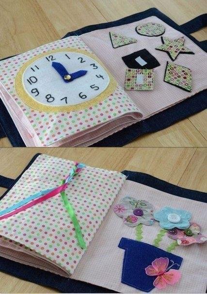Развивающая книжка для малышей