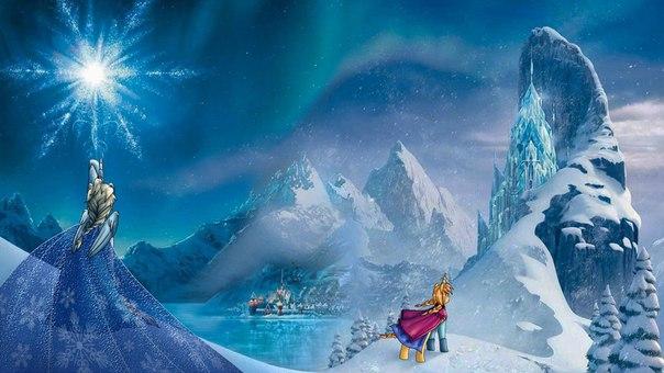 Игра Холодное Сердце Заморозка - Frozen Fashion Rival