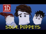 One Direction 1D3D Movie Trailer - Homemade with Sock Puppets