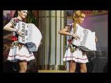 Самые красивые аккордеонистки России-дуэтЛюбАняДОРОГОЙ ДЛИННОЮ accordion,harmonica,ба...