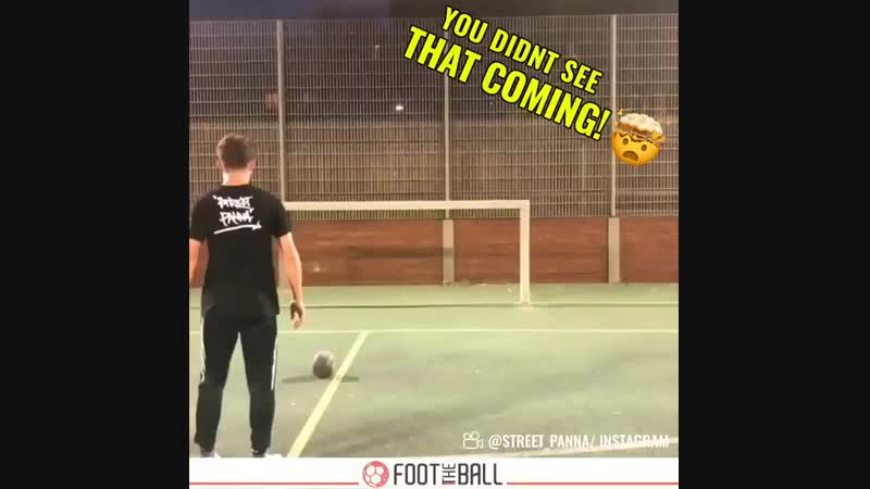 Wait for it! ️ - via @street_panna - - panna nutmeg golazo streetsoccer football skills HereToCreate NIKEFOOTBALL soccer FootThe