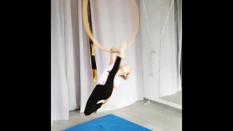 Aerial Hoop - Алина Тарасова