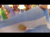 Argentina Football Fans in Moscow June 29 2018