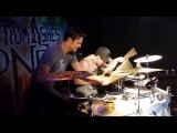From Ashes to New drummer Tim Donofrio with Arejay Hale of Halestorm live drum solo
