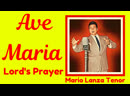 The Lord's Prayer and Ave Maria (1951 and 1955) by Mario Lanza Tenor 1