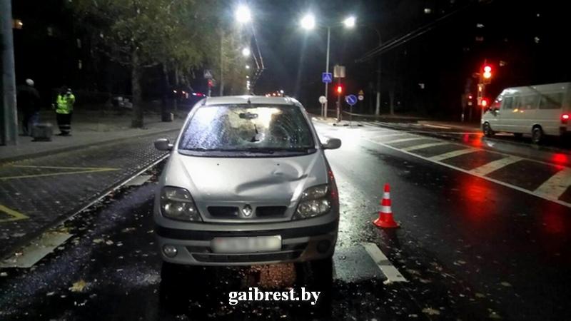 В ГАИ рассказали подробности ночного наезда на пешехода на Партизанском проспекте