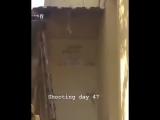 Part 3 Day 7 Total Days 47 - On the set The Protector - Hakan - TheProtector ÇağatayUlusoy - AyçaAyşinTuran Netflix NetflixTürk