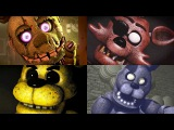 All FNAF Voices (Five Nights at Freddy's Animations)