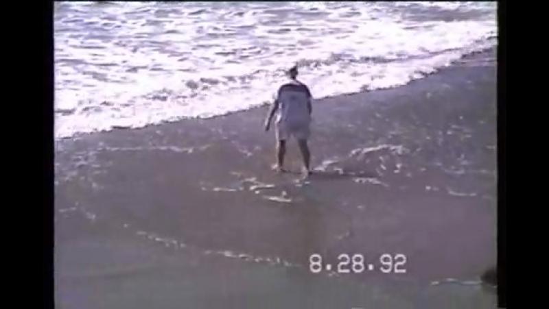 Washaway Beach, North Cove, WA - High Tide 1992