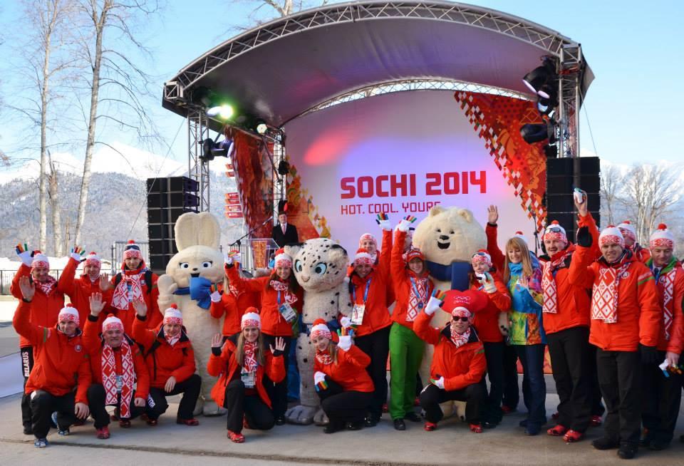 Сборная Беларуси на Олимпийских Играх в Сочи