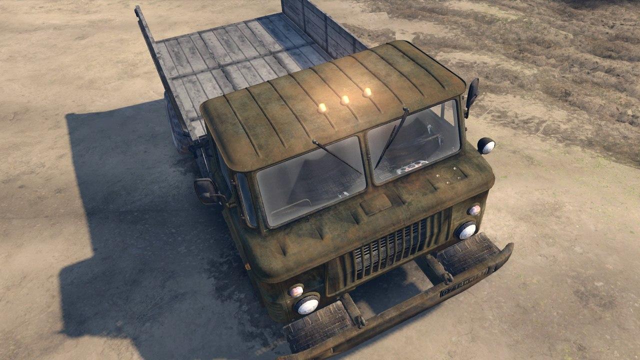 ГАЗ САЗ 3511-66 v1.1 для версии 13.04.15 для Spintires - Скриншот 1