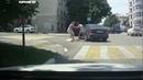 Новороссийск Драка женщин на дороге