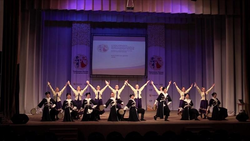 Чемпионат России по народным танцам 2018 Юность Кубани станица