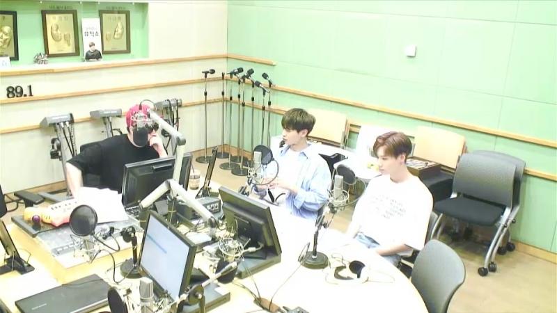 180621 Taemin Minho на радио Cool FM 'Moon Hee Jun'
