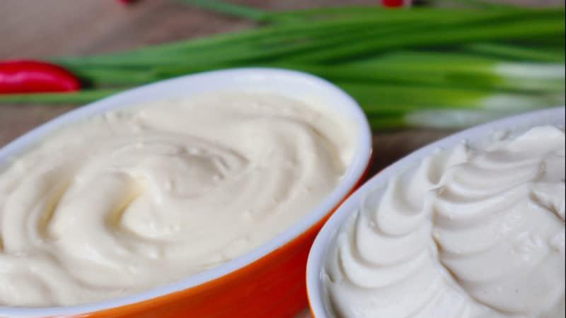 ЗАМЕНЯЕМ Майонез! 2 Соуса - НЕ ОТЛИЧИТЬ ОТ МАЙОНЕЗА! Replace mayonnaise!