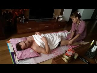 Real thai massage (oil) step by step.. by alina  m