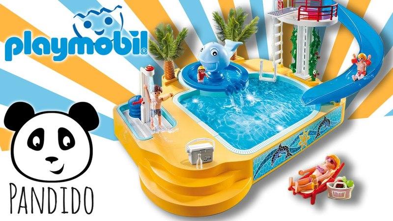 ⭕ Playmobil Schwimmbad - ausgepackt und angespielt - Pandido TV