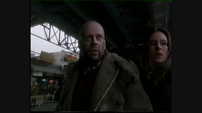 12 ОБЕЗЬЯН 1995 фантастика триллер детектив Терри Гиллиам 1080p