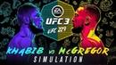 EA SPORTS UFC 3 UFC 229 Simulation - Khabib VS McGregor