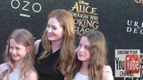 Miranda Otto and Darcey O'Brien at the Premiere Of Disney's Alice Through The Looking Glass at El Ca
