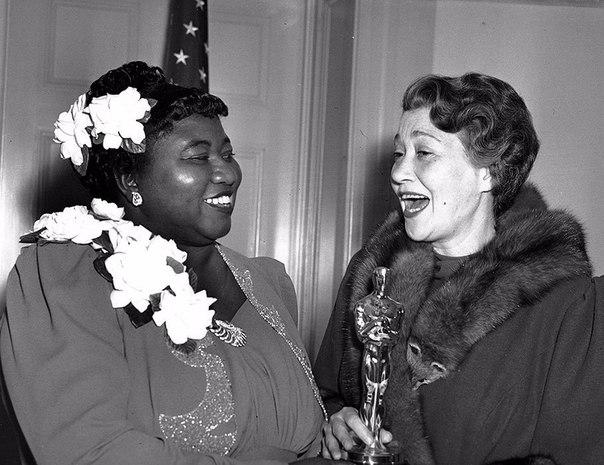 Первая темнокожая актриса, получившая «Оскар», Лос–Анджелес, 1940 год.